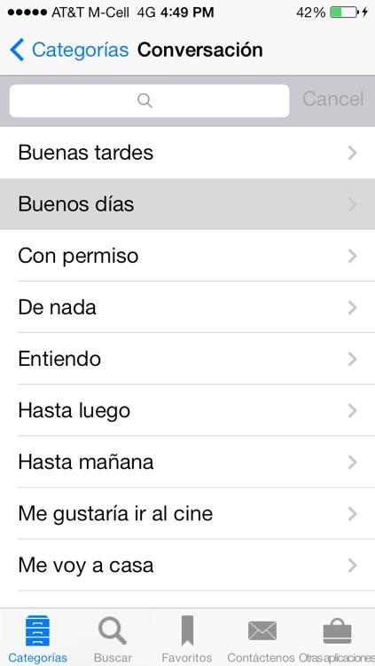 Spanish to English Translation Phrasebook