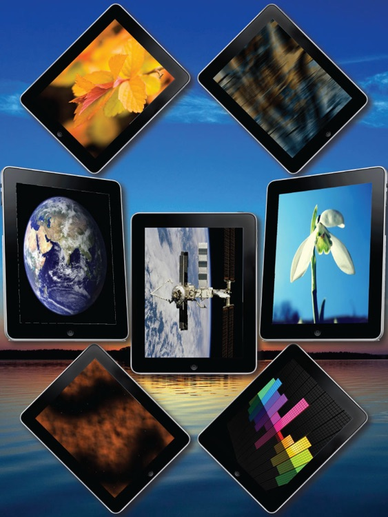 Wallpapers for New iPad screenshot-3