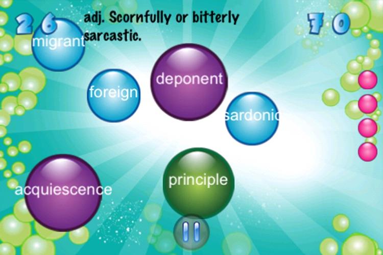 Vocabulary Bubble FREE