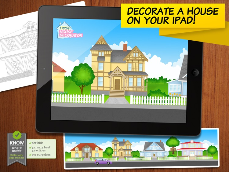 Little House Decorator - creative play for girls, boys and whole family