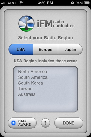 iFM Radio Controller Screenshot