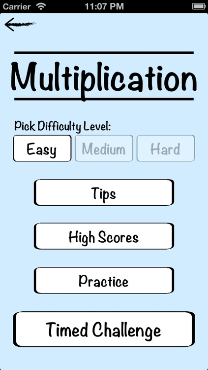 Mental Math Cards - Tips, Fact Practice, & Timed Challenge screenshot-3