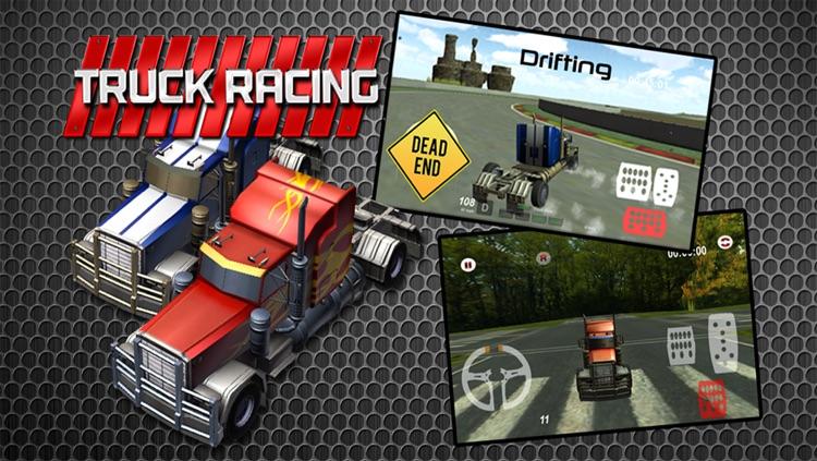 3D Truck Racing : High Speed Race
