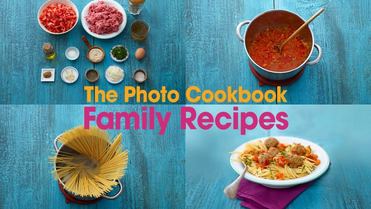 The Photo Cookbook – Family Recipes