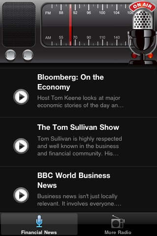 Financial News Radio FM - Your MONEY Talk Radio screenshot-3