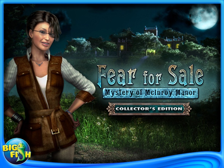 Fear For Sale: Mystery of McInroy Manor HD - A Hidden Object Adventure screenshot-4