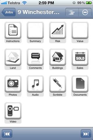 Screenshot of ValuePROMobile