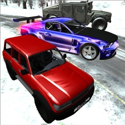 Car Race Winter