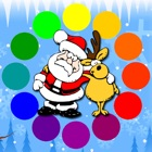 Christmas Coloring Pages with Santa Claus icon