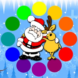 Christmas Coloring Pages with Santa Claus