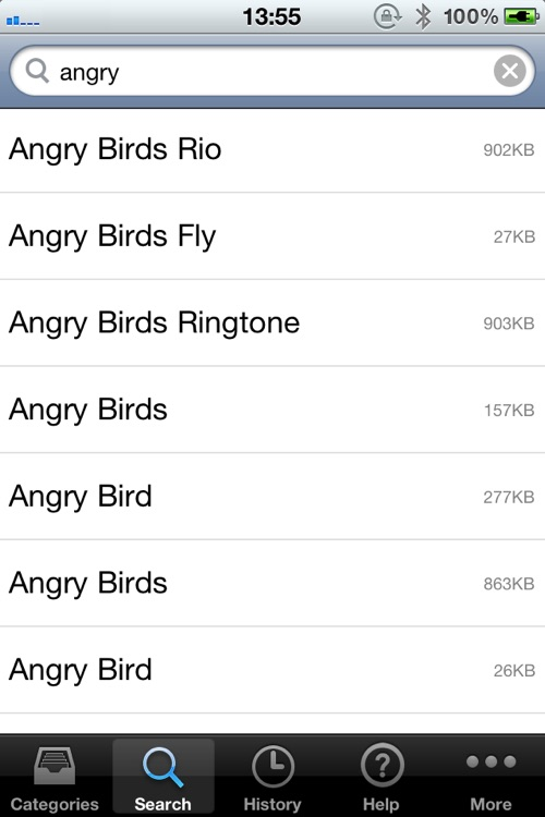 10,000 Ringtones Pro screenshot-2