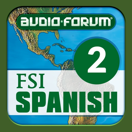 Spanish Programmatic Course Vol. 2 (Level 2) - by Audio-Forum / Foreign Service Institute