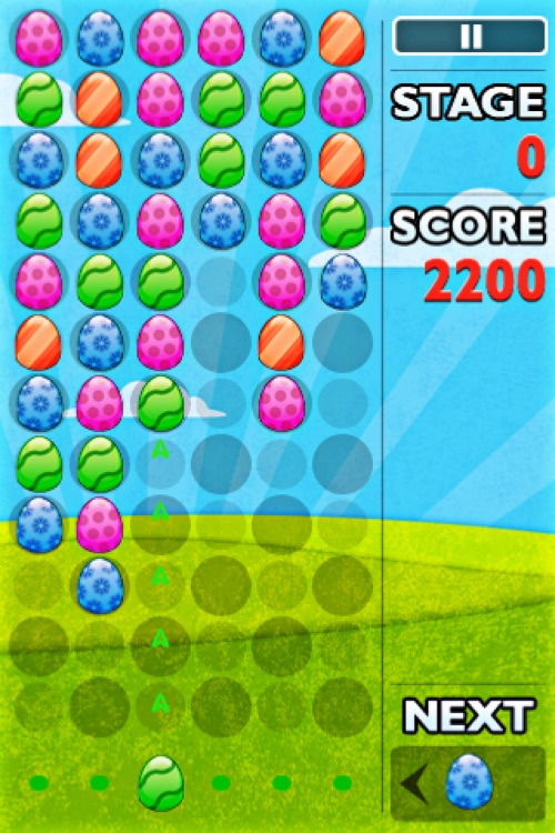 Easter Egg Blitz Blaster Free - Falling Bubble Shooter Game