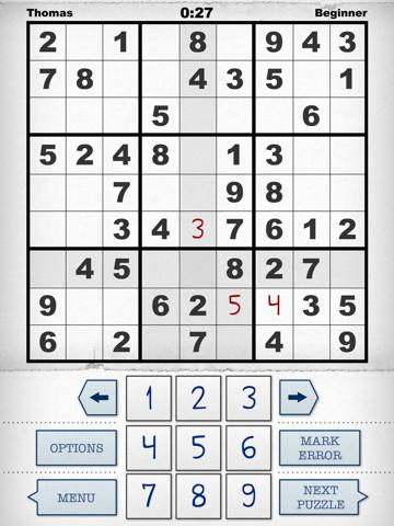 Simply Sudoku - the App screenshot