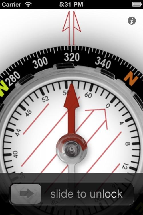 Orienteering Compass screenshot-4
