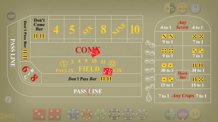 Craps Deluxe screenshot-1
