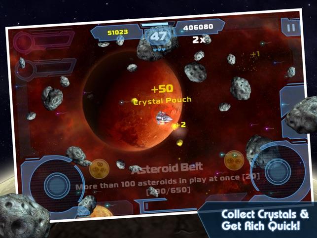 Asteroids: Gunner Capture d'écran
