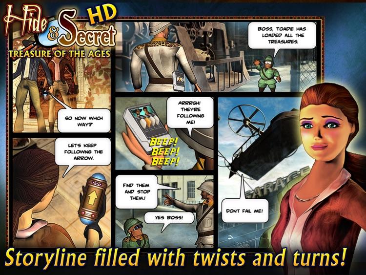 Hide & Secret: Treasure of the Ages HD screenshot-4