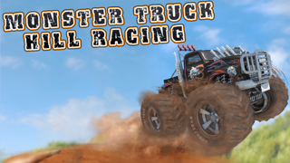 Monster Truck Hill Racing Game