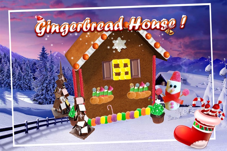 Gingerbread House Maker! screenshot-0