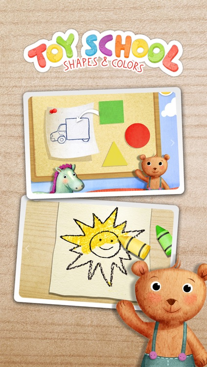 Toy School - Shapes and Colors Educational Game for Kids and Toddlers