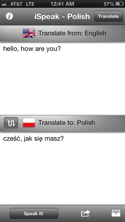 iSpeak Polish screenshot-0