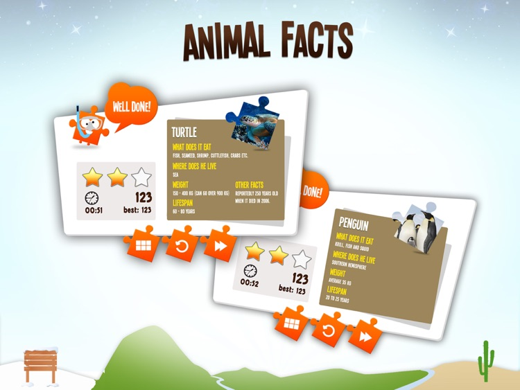 JiGi's Jigsaw Animals screenshot-3