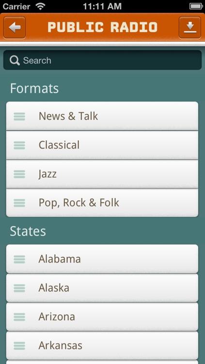 Public Radio Player screenshot-4