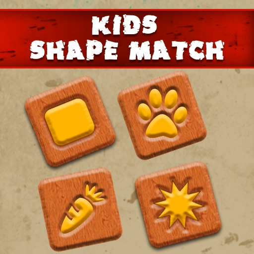 Kids Shape Match