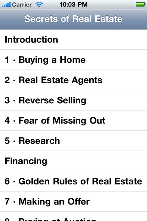 Secrets of Real Estate