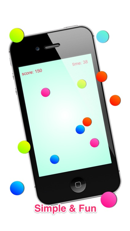 Dots Fast Tapping: Fun Finger Exercise Free