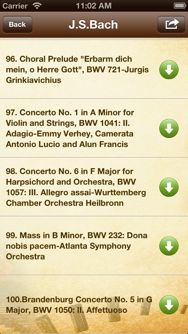 点击获取Masterpieces of Great Composers-1200 songs