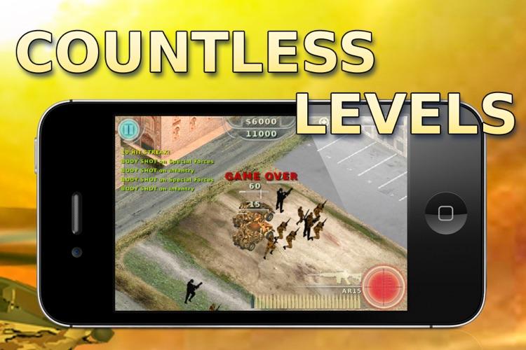 Assault Defense - Modern War screenshot-4