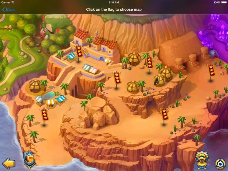 How to play Fieldrunners 2 (iPad version)