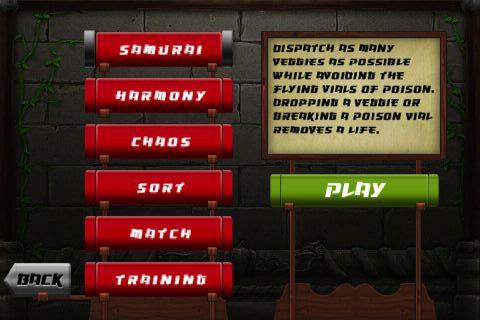 Veggie Samurai screenshot-4