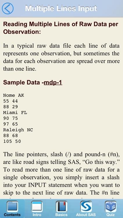 SAS BaseProgram screenshot-3