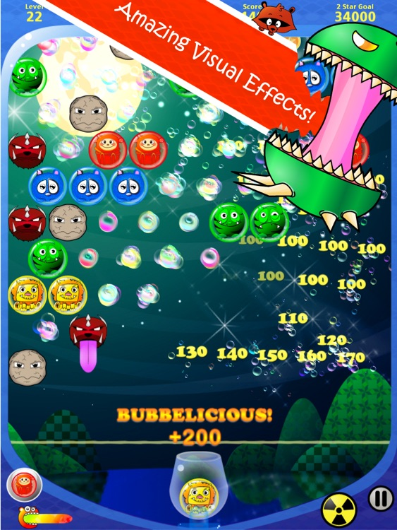 Bubble Shooter Fantasy HD screenshot-3