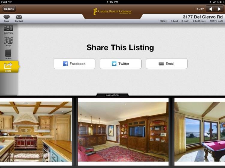 Carmel Realty for iPad screenshot-4