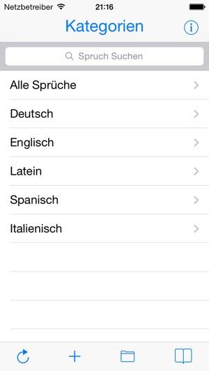 familiensprüche italienisch
