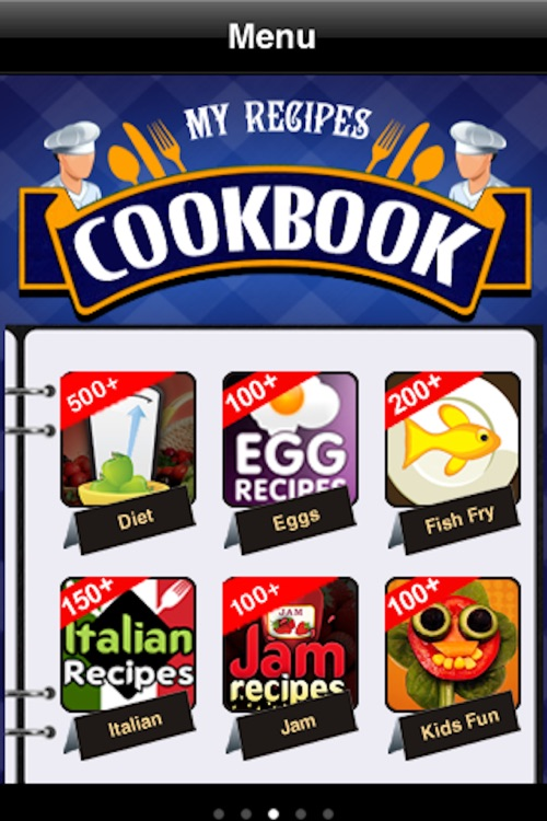 My Recipes Cookbook screenshot-2