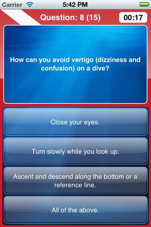 ScubaQuiz screenshot-2