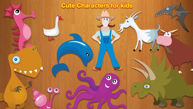 Clever Kids - First Puzzles Learning Game for Children screenshot-3