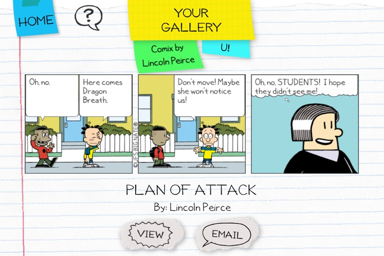 Big Nate: Comix By U! screenshot-4