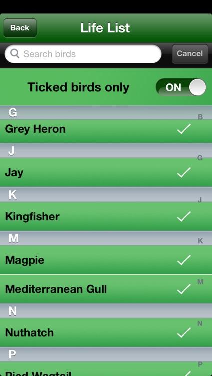Bird Ticker