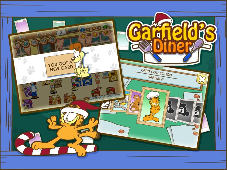 La fonda de Garfield HD screenshot-3