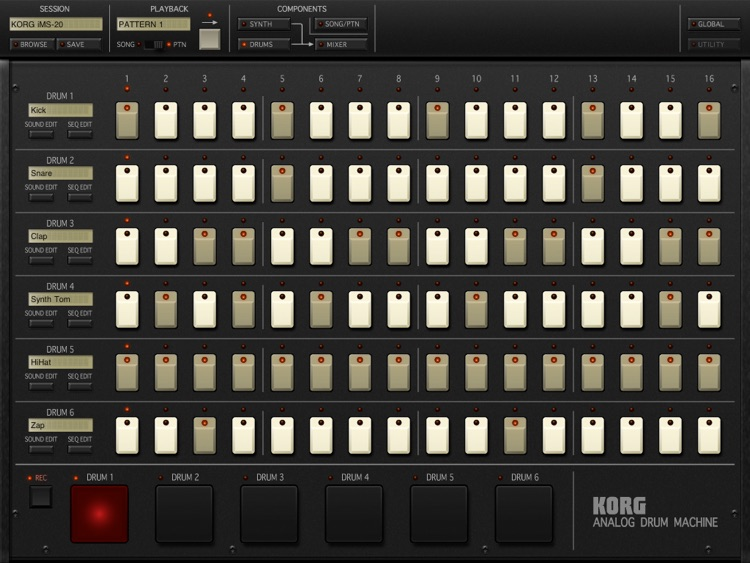 KORG iMS-20 screenshot-3
