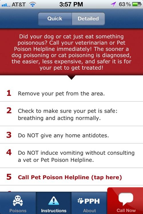Pet Poison Help screenshot-3