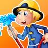 アクティブ!幼稚園、保育園や保育所のためのゲーム、パズルやなぞなぞ:消防署について幼児のためのゲーム。 学ぶ 消防士、消防士、消防車、警察、ホースおよび多く