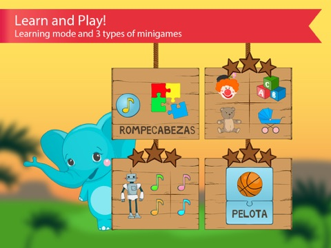 Spanish for kids with benny learning spanish language by flashcards learning spanish language by flashcards m4hsunfo