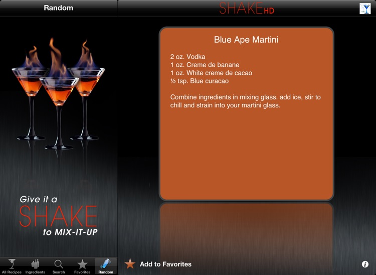 SHAKE-HD - Martini Recipes screenshot-4